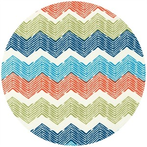 Rebecca Bischoff for Robert Kaufman, Blythe, Combed Chevron Park