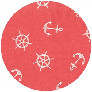Regal Fabrics, HOME DEC, Anchors Coral