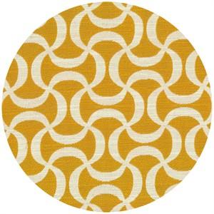 Regal Fabrics, HOME DEC, Doodle Tumeric