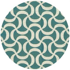 Regal Fabrics, HOME DEC, Doodle Turquoise