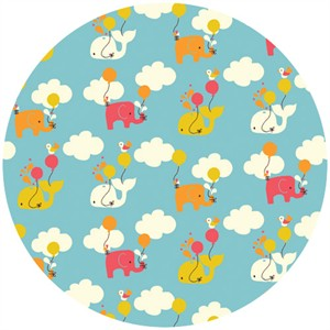 Rebekah Ginda for Birch Organic Fabrics, Frolic, Up Up and Away Pool