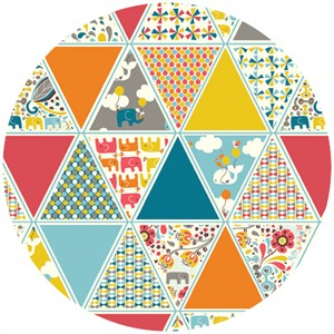 Rebekah Ginda for Birch Organic Fabrics, Frolic, Frolic Triangles