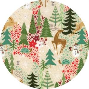 Moda, Berry Merry, Reindeer Games Cream