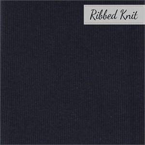 Birch Organic Fabrics, RIBBED KNIT, Dusk