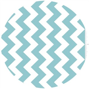 Riley Blake, Chevron, Aqua