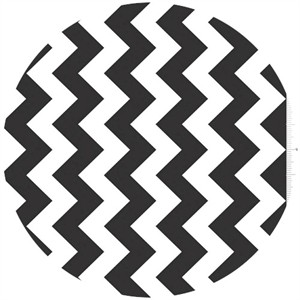 Riley Blake, Chevron, Black