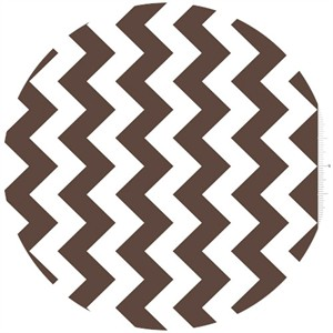 Riley Blake, Chevron, Brown