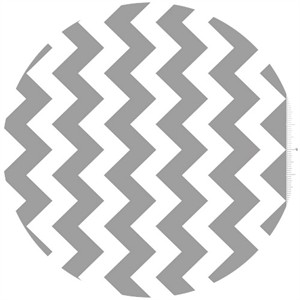 Riley Blake, Chevron, Gray