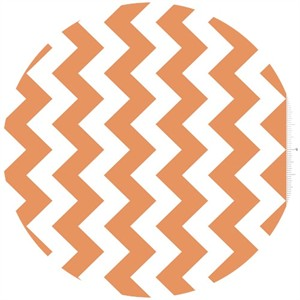 Riley Blake, Chevron, Orange