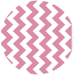 Riley Blake, Chevron, Pink