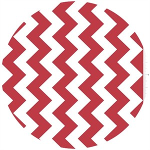Riley Blake, Chevron, Red
