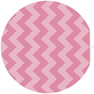 Riley Blake, Chevron, Tone on Tone Hot Pink