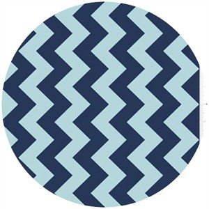 Riley Blake, Chevron, Tone on Tone Navy