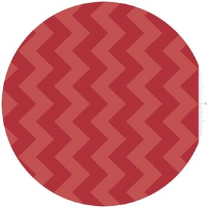 Riley Blake, Chevron, Tone on Tone Red