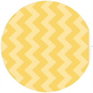 Riley Blake, Chevron, Tone on Tone Yellow