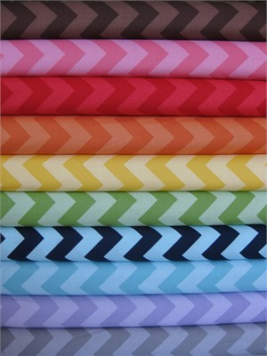 Riley Blake Chevron, Tone on Tone, Medium 10 Total