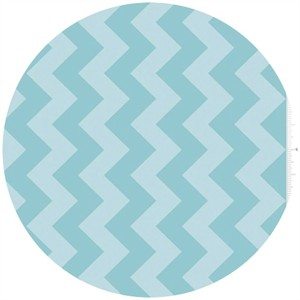Riley Blake, Chevron, Tone on Tone Aqua