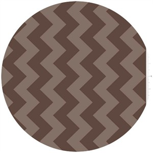 Riley Blake, Chevron, Tone on Tone Brown