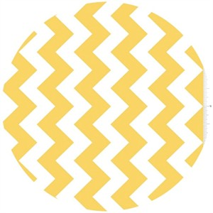 Riley Blake, Chevron, Yellow