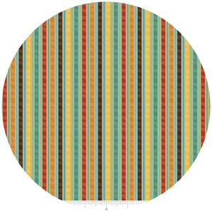 Riley Blake, Giraffe Crossing, Stripe Teal