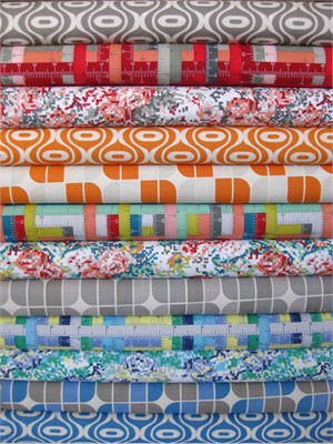 Riley Blake, Hipsters in FAT QUARTERS, 12 Total