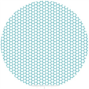 Riley Blake, Honeycomb Dot, Aqua