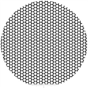 Riley Blake, Honeycomb Dot, Black