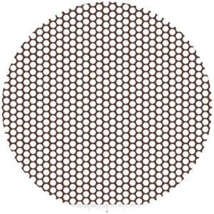 Riley Blake, Honeycomb Dot, Brown