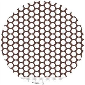Riley Blake, Honeycomb Dot, FLANNEL, Brown