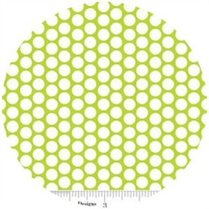 Riley Blake, Honeycomb Dot, FLANNEL, Lime