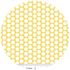 Riley Blake, Honeycomb Dot, FLANNEL, Yellow