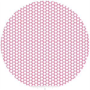 Riley Blake, Honeycomb Dot, Hot Pink