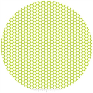 Riley Blake, Honeycomb Dot, Lime