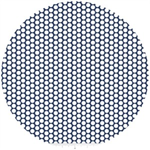 Riley Blake, Honeycomb Dot, Navy