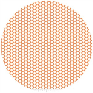 Riley Blake, Honeycomb Dot, Orange