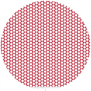 Riley Blake, Honeycomb Dot, Red