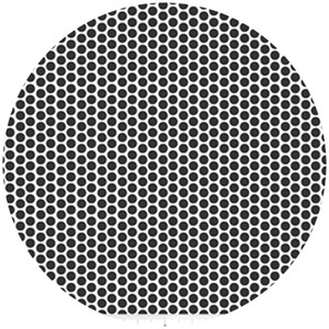 Riley Blake, Honeycomb Dot Reversed, Black