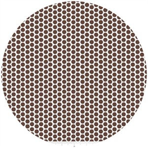 Riley Blake, Honeycomb Dot Reversed, Brown