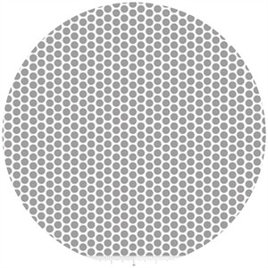 Riley Blake, Honeycomb Dot Reversed, Gray