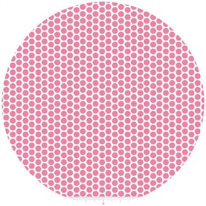 Riley Blake, Honeycomb Dot Reversed, Hot Pink