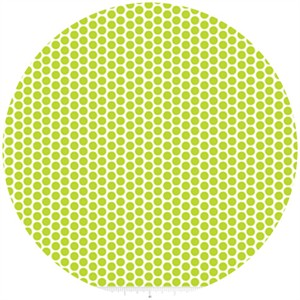 Riley Blake, Honeycomb Dot Reversed, Lime