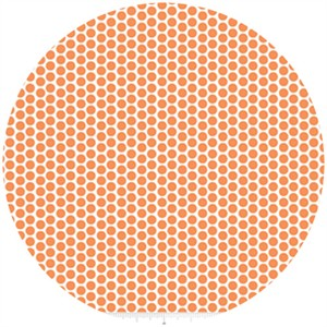 Riley Blake, Honeycomb Dot Reversed, Orange