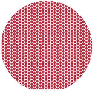 Riley Blake, Honeycomb Dot Reversed, Red