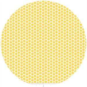 Riley Blake, Honeycomb Dot Reversed, Yellow