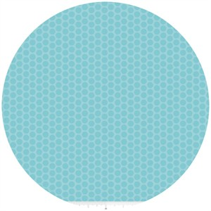Riley Blake, Honeycomb Dot Tone on Tone, Aqua