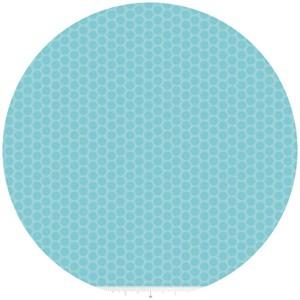 Riley Blake, Honeycomb Dot Tone on Tone, Aqua