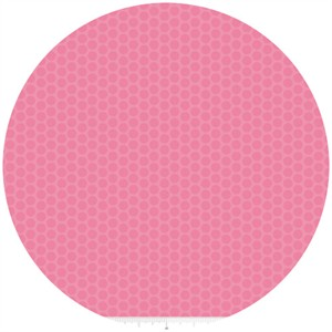 Riley Blake, Honeycomb Dot Tone on Tone, Hot Pink