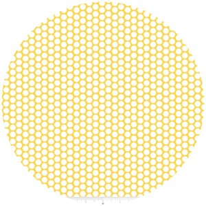 Riley Blake, Honeycomb Dot, Yellow