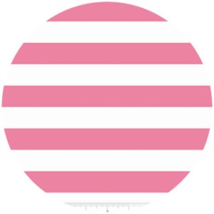 Riley Blake, KNIT Basics, 1 Inch Stripe Hot Pink