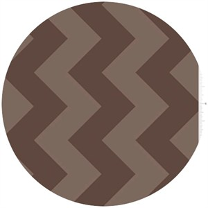 Riley Blake, Large Chevron, Tone on Tone Brown